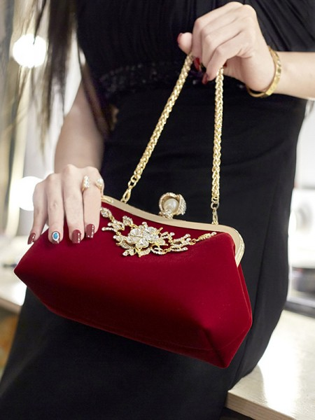 Fashion Rhinestone Wedding Evening/Party Handbags