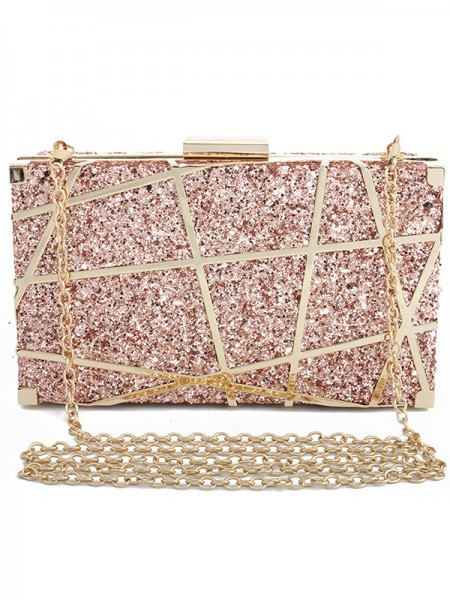 Fashion 3D Geometric Pattern Wedding Evening/Party Handbags